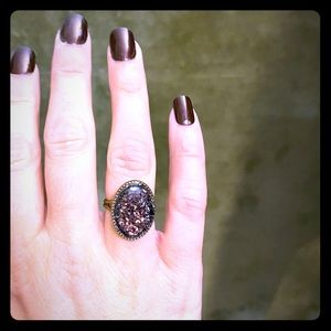 Steampunk/industrial inspired ring